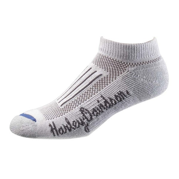Harley-Davidson Wolverine Women/'s Comfort Cruiser Riding Socks 3 Pairs White