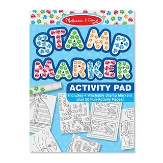 Melissa and Doug LCI2422 Stamp Marker Activity Pad Blue