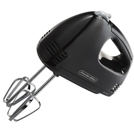 Proctor Silex 62507 Easy Mix 5-Speed Hand Mixer, Black