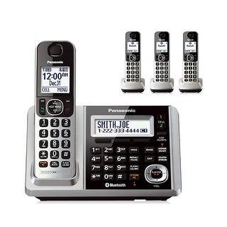 Panasonic KX-TGF374S 4 Handset Cordless Phone