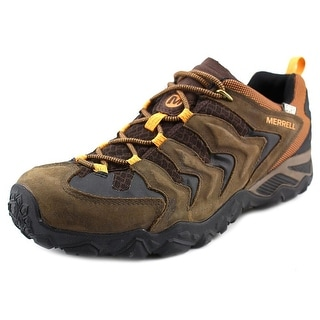 Merrell Chameleon Round Toe Leather Hiking Shoe