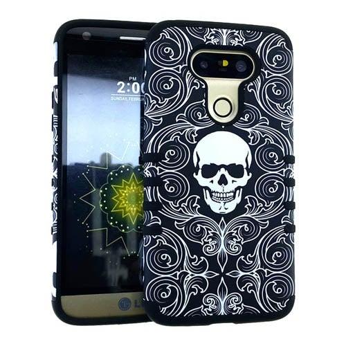 Rocker Series Slim Protector Case for LG G5 (Skull Design)
