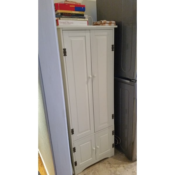 Exceptionnel Shop Simple Living Extra Tall Cabinet   On Sale   Free Shipping Today    Overstock   3912177