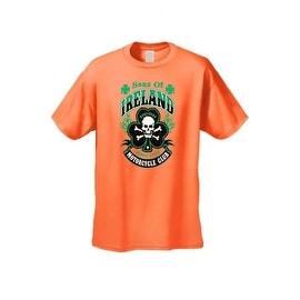 Men's Biker T-Shirt Sons of Ireland Motorcycle Club Ireland Irish Pride Hooligans