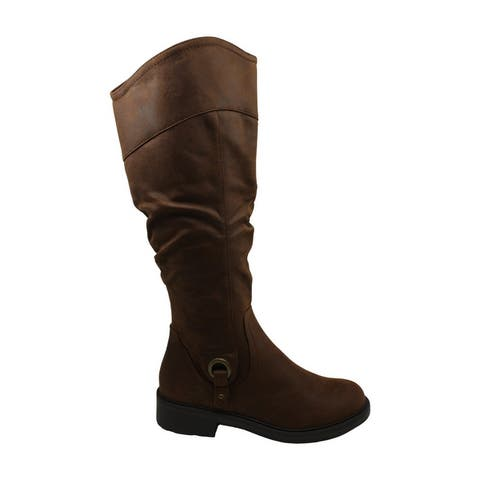 Bare Traps Women's Shoes Chaya Leather Closed Toe Knee High Fashion Boots