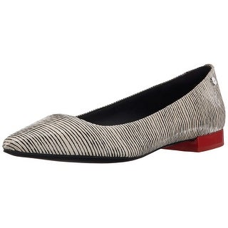 Calvin Klein Womens Elle Pointed Toe Loafers