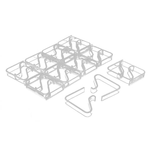 Household Table Cloth Cover Clip Clamp Holder 3.5-5cm Thickness 20pcs