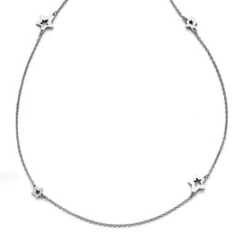 Chisel Stainless Steel Polished Slip On Stars Necklace - 33 in