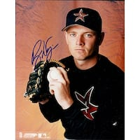 Signed Wagner Billy Houston Astros 8x10 Photo autographed