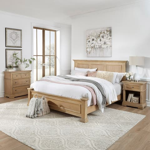 Manor House King Bed, Night Stand & Chest by Home Styles
