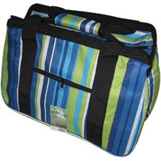 "18""X10""X12"" Blue Stripes - Janetbasket Eco Bag"