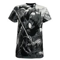 Batman: The Dark Knight Rises Risen One Men's T-Shirt, Black, Small