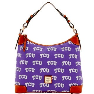 Dooney & Bourke NCAA Texas Christian Hobo (Introduced by Dooney & Bourke at $218 in Mar 2016) - Purple