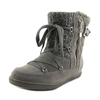 G By Guess Rowly Women Dark Grey Snow Boots