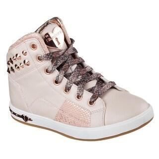Skechers 84328L PNK Girl's SHOUTOUTS - STUD CHIC Sneaker