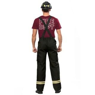 Fire Captain Plus Size Mens Costume