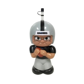 NFL Teenymates Big Sipper Drink Bottle 16oz Character Cup - Oakland Raiders