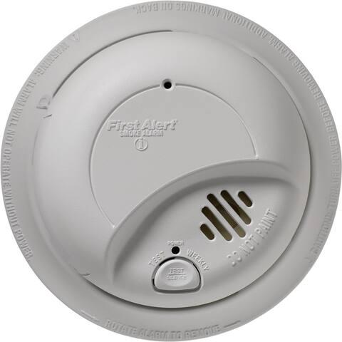 First Alert 9120B6CP Smoke Detector, Ionization, 85 db, 6/Pack