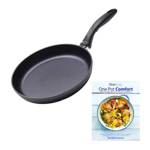"Swiss Diamond Nonstick Fry Pan (8"") with Cookbook"