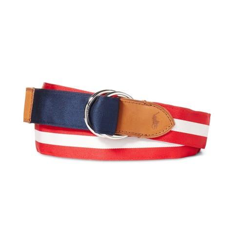 Ralph Lauren Mens Reversible Belt