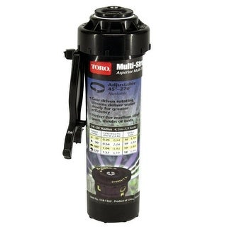 Toro 53877 Multi-Stream Adjustable Lawn Sprinkler, 4""