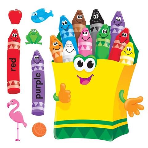 Bb Set Colorful Crayons