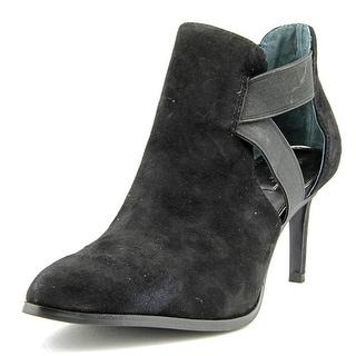 Alfani Ronja Women Pointed Toe Leather Black Heels