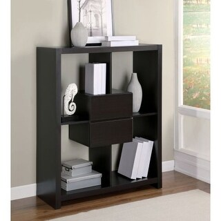 Monarch Specialties Shelving unit with drawers I Storage Shelving Unit with Drawers