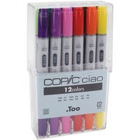 Copic Ciao Markers 12pc Set-Basic