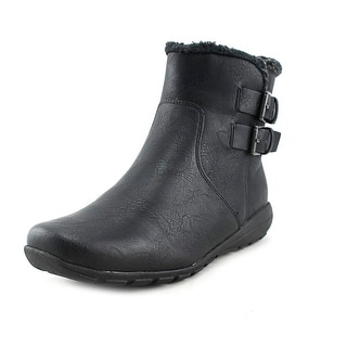 Easy Spirit Amada   Round Toe Synthetic  Ankle Boot