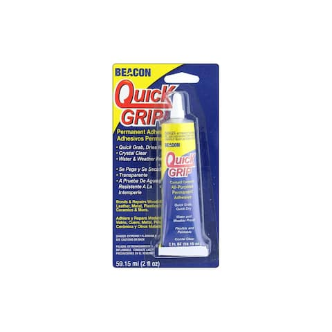 Beacon Quick Grip Glue 2oz Carded