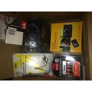 Kodak PIXPRO Friendly Zoom FZ43 (Red) w/ Sony 32GB Class 10 70MB/s SDHC Bundle