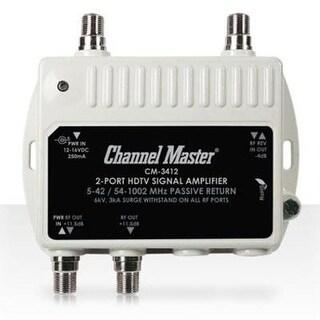 Channel Master - 3412 - Hdtv Distribution Amp 2 Port