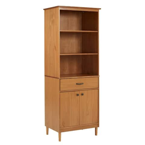 Carson Carrington 70-inch Tall Solid Wood 2-Door Hutch