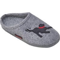 Giesswein Women's Molly Clog Slipper Slate Wool