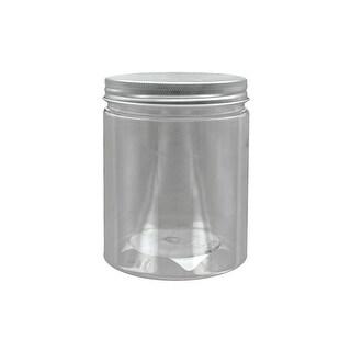Darice Jar PVC w/Alum Lid 3.25x4.25 Clear