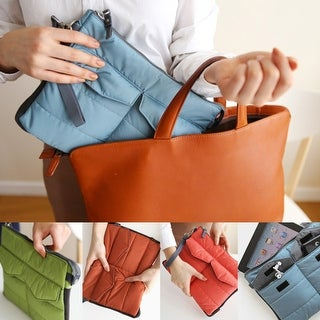 Handbag Gadget Organizer Insert in Multiple Colors