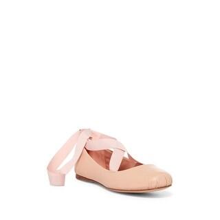 BCBGeneration Womens Talia Round Toe Ankle Wrap Slide Flats