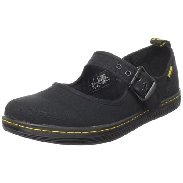 Dr. Martens Womens Carnaby Mary Janes Canvas Adjustable