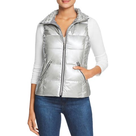 Fillmore Womens Packable Vest Metallic Down