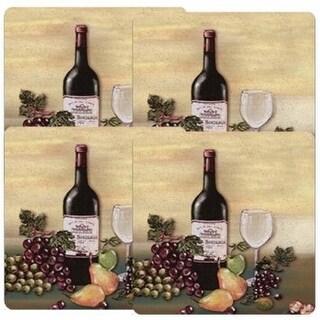 Reston Lloyd G-636-A Wine & Vines - Gas Burner Cover - Set of 4