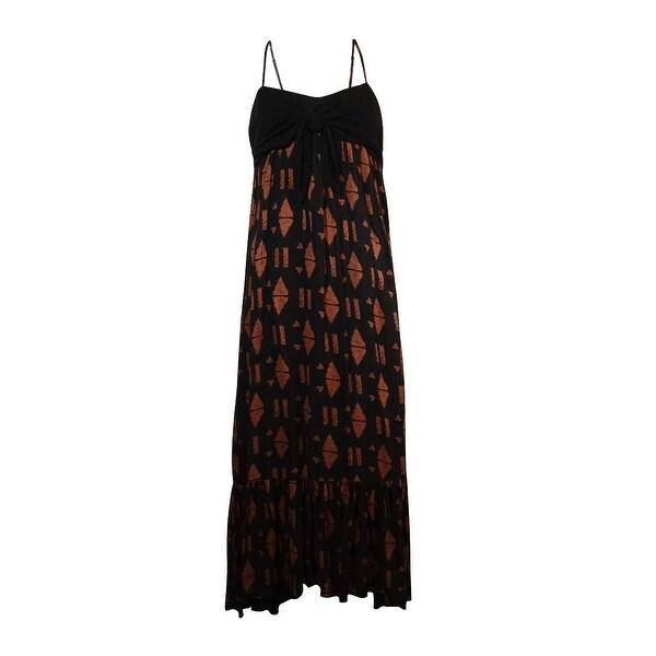 Free People Women's Totally Tubular Maxi Dress - black combo