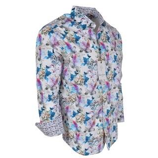 Robert Graham FLYING COLORS Floral Paisley Print Classic Fit Shirt