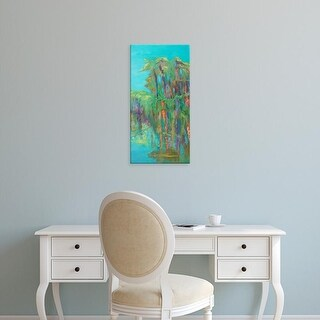 Easy Art Prints Suzanne Wilkins's 'Rios de Colores II' Premium Canvas Art