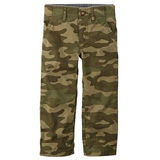 Carter's Baby Boys' Pull-On Jersey Lined Camo Pants - 3 Months
