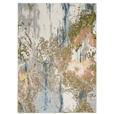 Nourison Trance Abstract Area Rug
