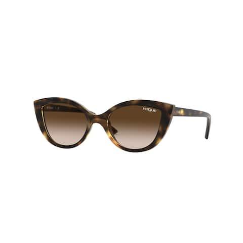 Vogue VJ2003 W65613 46 Dark Havana Woman Cat Eye Sunglasses