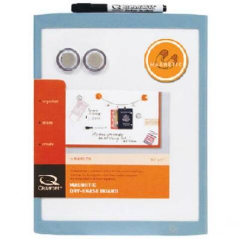 "Quartet MHOW8511 Plastic Frame White Magnetic Dry-Erase Board, 8.5"" x 11"""