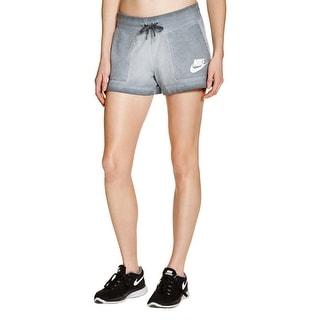 Nike Womens Athletic Shorts Pull On Short Wash