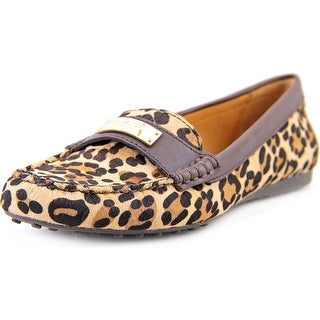 Coach Frederica Apron Toe Suede Loafer